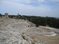 Teatro greco  - Siracusa (3529 clic)