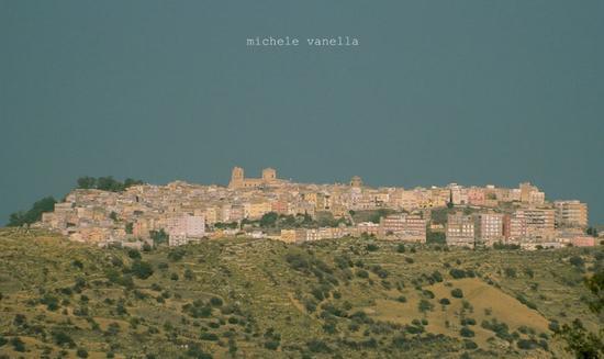 Mineo - Panorama da Terravecchia - MINEO - inserita il 24-Dec-14