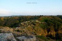Veduta verso SE del Parco archeologico di Occhiolà   - Grammichele (1761 clic)