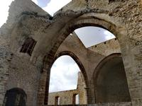 La chiesa di Santa Maria dello Spasimo Un'emorragia di bellezza, dove l'emozione arrivano fino al cielo, qui il tempo e lo spazio si dilatano. Lo spasimo non è solo un perimetro di mura senza tetto, qui risiede l'intreccio tra sacro e profano, storia e arte, dolore e commozione, e la presenza dell'albero dai 1100 anni in un'angolo dentro la chiesa sconsacrata simboleggia il riscatto della Natura.  - Palermo (2608 clic)