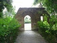 il tempio di Dionisio presso l'orto botanico.   - Palermo (1202 clic)
