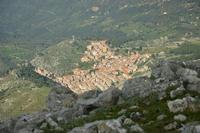Il meraviglioso borgo Gratteri, veduta da pizzo dipilo. CAI (2304 clic)
