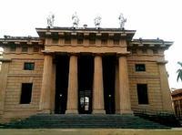 Il Gymnasium, l'edificio principale dell'orto botanico.  PALERMO Paola Porcello