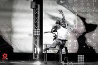 Albeto Poti un fotogramma di una bellissima coreografia  - Ragusa (1218 clic)