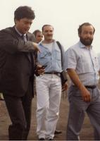 Francesco Musarra 1986 Francesco Musarra, Claudio Martelli (Vice Segretario PSI)  - Bronte (380 clic)