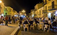 Per la festa di San Rocco serata al caffè  - Pietraperzia (1315 clic)