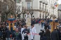 Riti della Settimana Santa-I Sampauluna 2016  - San cataldo (873 clic)