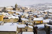 La neve del 2017 Chiesa Madre  - San cataldo (1279 clic)