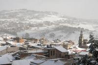 Scorcio La neve del 2017  - San cataldo (1260 clic)