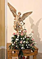 Statua San Michele Arcangelo, Allume di Roccalumera (ME).  (21 clic)