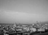 Comiso incolore vista dal belvedere. COMISO Mariella Oliva