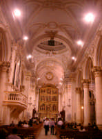 Interno della Cattedrale di San Giorgio  - Modica (4402 clic)