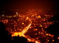 Veduta notturna dalla Vetta  - Modica (4148 clic)