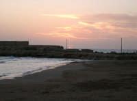 Spiaggia al tramonto  - Marina di ragusa (4228 clic)