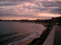 VISTA INVERNALE DAL LUNGOMARE  - Giardini naxos (5137 clic)