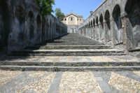 La scalinata monumentale della chiesa Madre di Paterno'.  - Paternò (5634 clic)