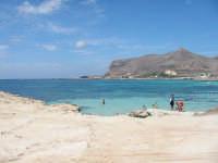 La spiaggia di Cala Burrone gioia dei bimbi  - Favignana (46751 clic)