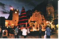 Piazza di Taormina a Natale  - Taormina (4278 clic)
