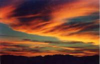 Tramonto sui monti messinesi del 27 giugno 2004  - Messina (4532 clic)