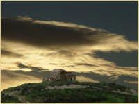 Rudere al tramonto fotografato nei pressi di caltagirone  - Caltagirone (5763 clic)