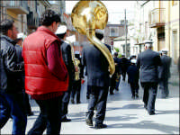 Festa di S.Giuseppe 19 marzo 2004 la Banda cittadina  - Valguarnera caropepe (8131 clic)