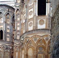 Particolare facciata Duomo di Monreale PA  - Monreale (10070 clic)