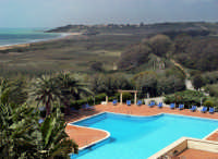 Marinella di selinunte vista dall'Hotel Paradise Beach  - Marinella di selinunte (10919 clic)