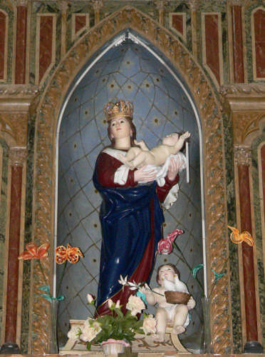 Chiesa Maria della Candelora - SERRO DI VILLAFRANCA TIRRENA - inserita il