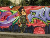 via dell'artigianato - l'arte dei murales  - Villafranca tirrena (3881 clic)