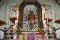 Santuario - statua lignea Ecce Homo   - Calvaruso (7654 clic)