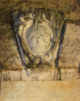 particolare del concio ingresso castello di Bauso  - Villafranca tirrena (4278 clic)