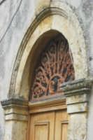 Antico portale scolpito in calcarenite  - Serro di villafranca tirrena (6570 clic)