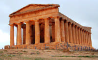 Tempio della Concordia - febbraio 2005  - Agrigento (4965 clic)