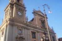 La Basilica Collegiata Maria SS. dell'Elemosina di Biancavilla. foto ventura '04  - Biancavilla (5445 clic)