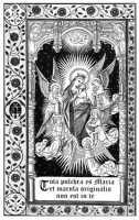 Stampa del 1910, portata alla luce dall'Associazione S.M.E. in occasione del 150° della proclamazione del dogma 8-12-2004 Primo Convegno Mariano  - Biancavilla (2337 clic)