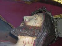 Particolare del Cristo morto conservato all'interno della Matrice  - Biancavilla (2470 clic)