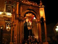 Processione del 6 ottobre del compatrono San Placido, Abate martire benedettino. Processione del 2004  - Biancavilla (2493 clic)
