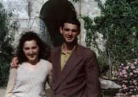comparse Pietro e Sandra  Porte Aperte di Gianni Amelio 89  - Pachino (3336 clic)