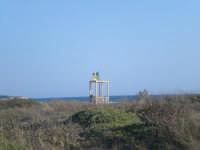Costa dell'Ambra Pachino, verso Concerie  Torretta DI OSSERVAZIONE DEgli addetti al salvamento in mare..  - Pachino (2032 clic)