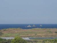 Pantano di Morghella uccelli gabbie allevamento marino  - Pachino (6046 clic)