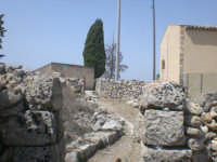 La villa dei mosaici sulla villa del Tellaro  - Eloro (1965 clic)