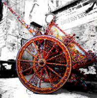 Ultima fabbrica di carretti a Palermo  - Palermo (3907 clic)