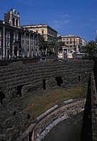 la piazza  - Catania (2385 clic)