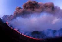 ERUZIONE 2001  - Etna (3041 clic)