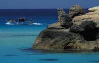 UNA VEDUTA DI BAIA DEI CONIGLI  - Lampedusa (7458 clic)