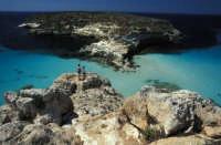 UNA VEDUTA DI BAIA DEI CONIGLI  - Lampedusa (13072 clic)