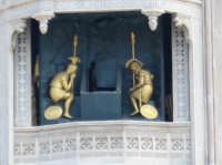 Il duomo di Messina, particolare del campanile animato  - Messina (3943 clic)