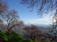 Panorama. Sullo sfondo l'Etna.  - Enna (3917 clic)