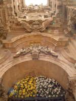 Particolare del portale del Duomo.  - Siracusa (2542 clic)