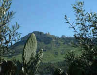 Enna. Panorama nord, la Rupe di Cerere e il Castello di Lombardia  - Enna (4180 clic)